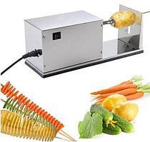 Аппарат для нарезки спиральных чипсов промышленный электрический