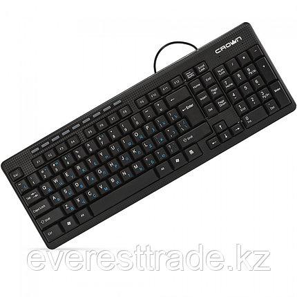 Клавиатура проводная Crown CMK-481, USB, 1,8m, фото 2
