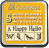 Набор мини штампов КолорБокс (MY FIRST COLORBOX) - FLUTTERS (порхания)