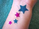 Блеск татуировки Shimmer Glitter Tattoos., фото 3