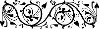 Переводки двусторонние самоклеющиеся - Ornate Border (бордюр с украшениями)