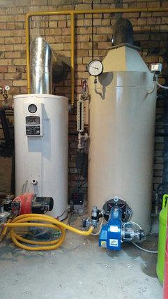 Газовый Паровой котел КОП200Г с газовой горелкой, фото 2