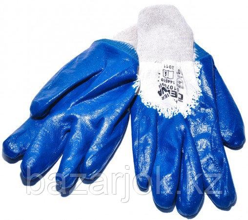 Перчатки МБС синие (нитриловые)