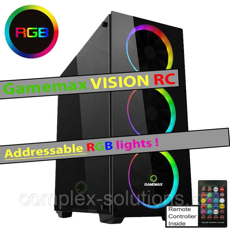 Gamemax Vision RC (RGB Addresable lights |  controller)