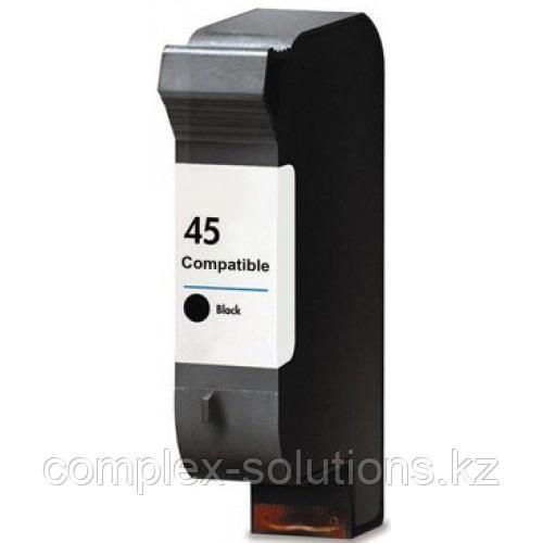 Картридж HP 51645AE Large Black Inkjet Print Cartridge №45, 42ml, for DJ 700 | 755 | 1100 | 1120 | 1125 | 1180 | 1220 | 1280 | 1600 | 6122 | 6127 |