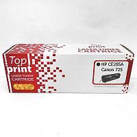 Картридж HP CE285A   CANON 725 (1,6K) TOP PRINT   [качественный дубликат]