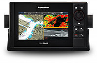 """Raymarine eS78 7"""" HybridTouch Multifunction Display with Built in DownVision Sonar and Wi-Fi, No Chart E70265"""
