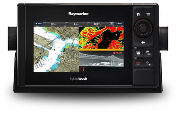 "Raymarine eS78 7"" HybridTouch Multifunction Display with Built in DownVision Sonar and Wi-Fi, No Chart E70265"