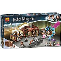 Конструктор Bela Justice Magician Чемодан Ньюта Саламандера 11009 (Аналог LEGO Harry Potter 75952) 718 дет