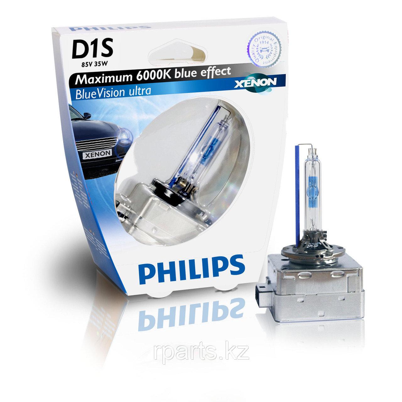 Ксеноновая лампа Philips  Xenon BlueVision Ultra D1S