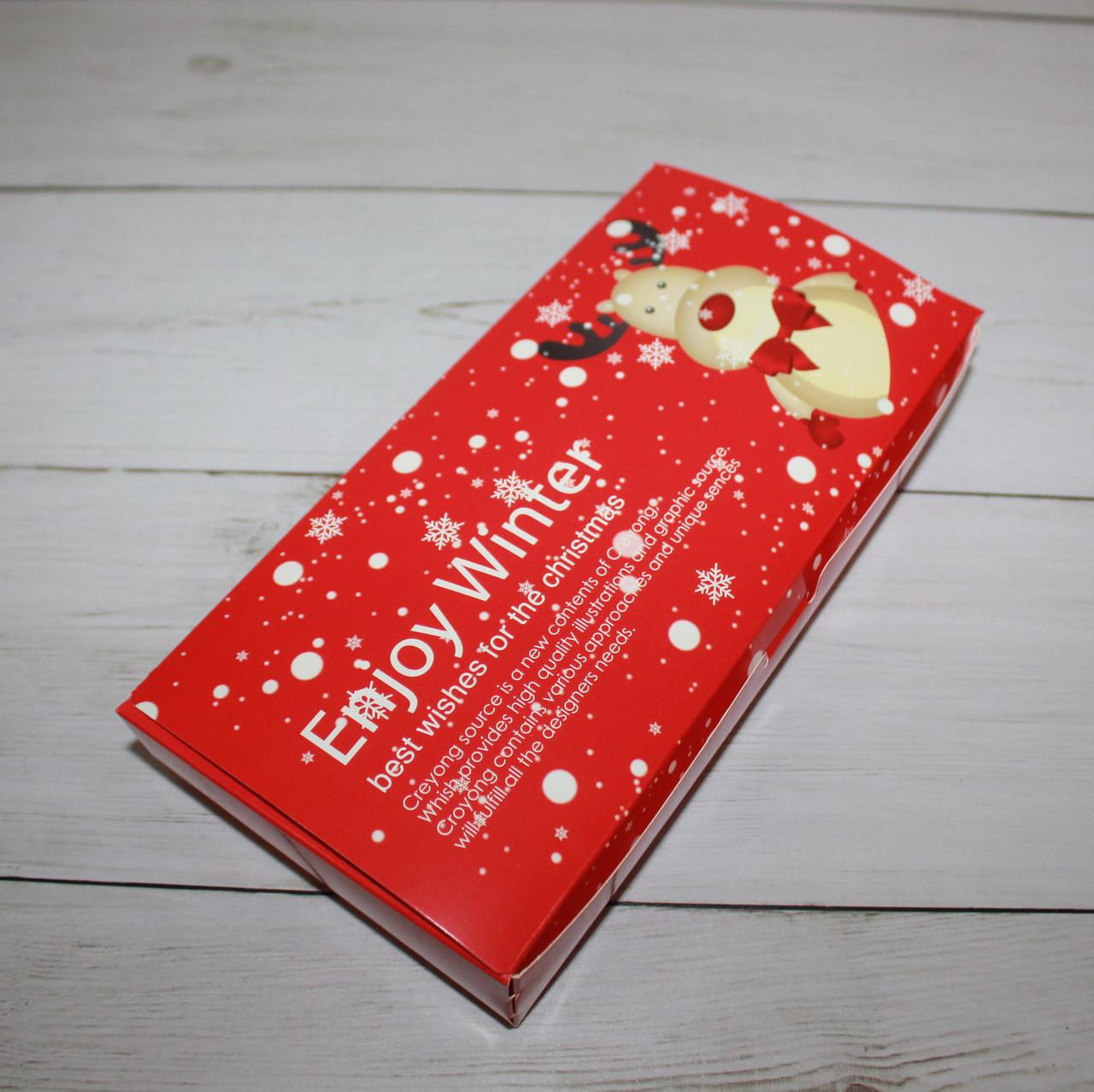 "Коробка для десертов ""enjoy winter"""