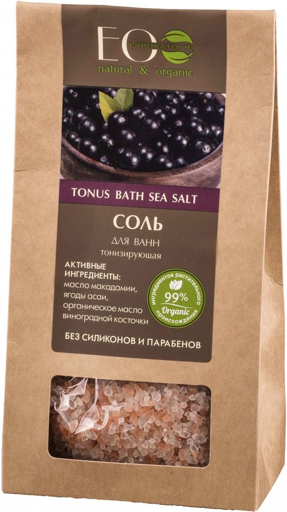 Соль для ванн тонизирующая