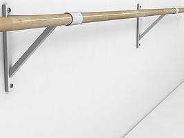 Балетный станок однорядный настенный 3м
