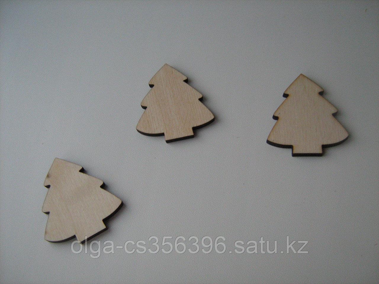 Деревянная заготовка. Елочка. 5 см. Creativ  2421