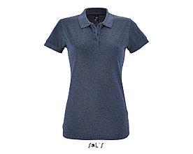 Рубашка поло женская | Perfect Woman | Sols | Heather denim