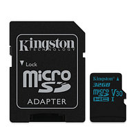 Kingston 32GB microSDHC + SD Adapter