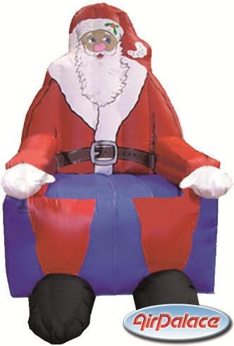 Большая надувная фигура Трон Санта