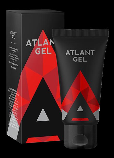 Интимный гель для увеличения пениса Atlant gel 50 ml. АКЦИЯ 2+1