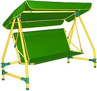 Качели дачные четырехместные Leco-IT 400 Green, фото 1