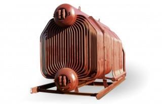 Котел паровой ДКВр-20-13ГМ на газе и жидком топливе