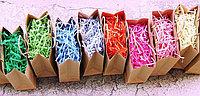 Стружка бумажная цветная,  солома декоративная Астана