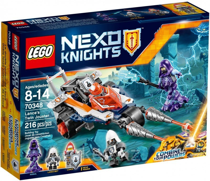 LEGO Nexo Knights: Турнирная машина Ланса 70348