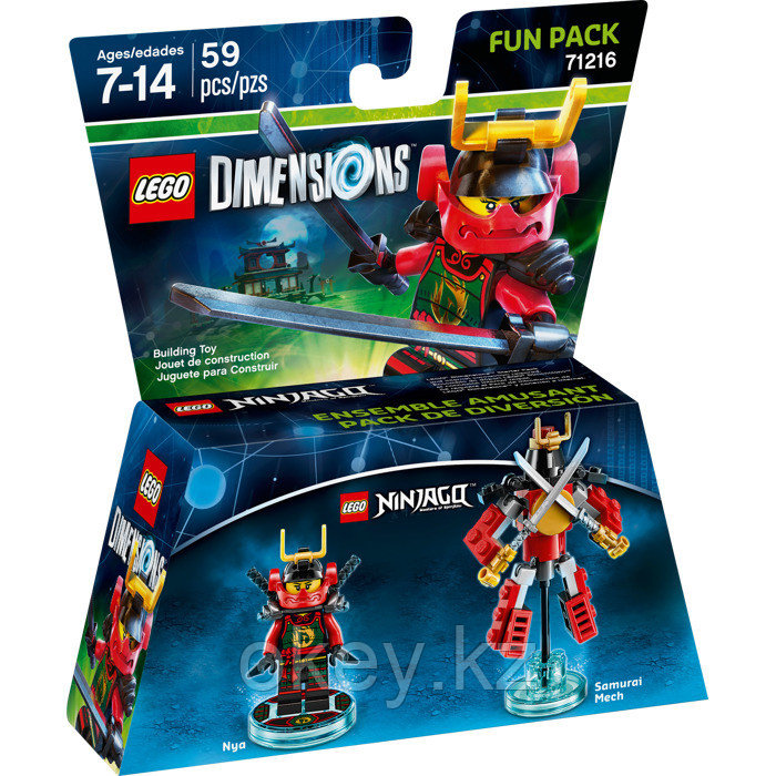 LEGO Dimensions: Fun Pack: Ниндзяго - Ния 71216