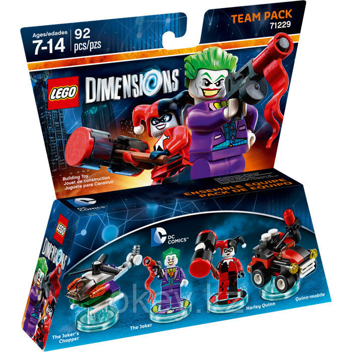 LEGO Dimensions: Team Pack: Джокер и Харли Куин 71229