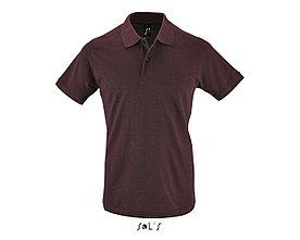 Рубашка поло мужская | Perfect Men | Sols | Heather oxblood