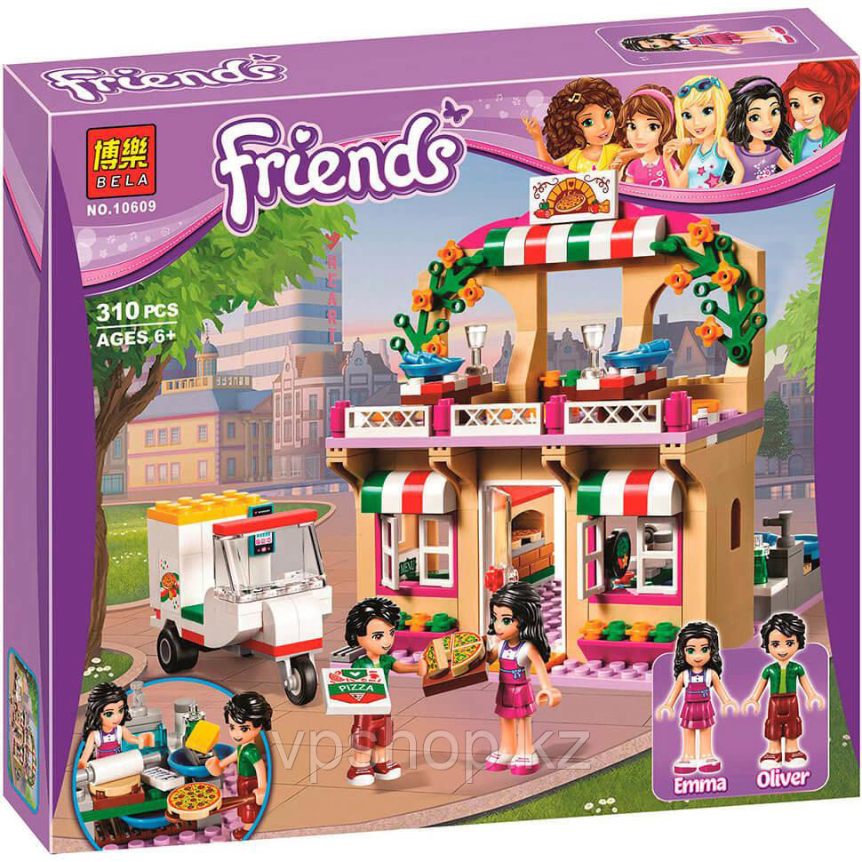 "Конструктор Bela Friends 10609 ""Пиццерия"" (аналог Lego Friends 41311), 310 дет​, доставка"