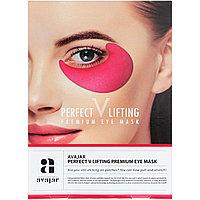 Омолаживающие патчи для глаз Avajar, Perfect V Lifting Premium Eye Mask, 2 Masks, фото 1