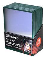 Протекторы Ultra Pro Жесткие прозрачные премиум протекторы toploader 25 штук