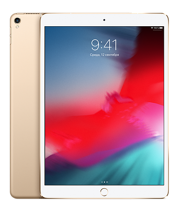 IPad Pro 10,5 дюйма, Wi-Fi, 256 ГБ, Gold, фото 2