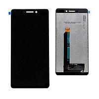 Дисплей Nokia 6.1 2018 (TA-1043) с сенсором цвет черный