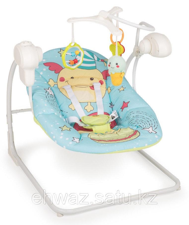 Электрокачели Happy Baby Jolly V2 Blue