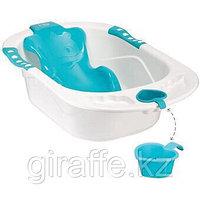 Ванна Happy baby с анатомической горкой Bath comfort Blue, фото 1
