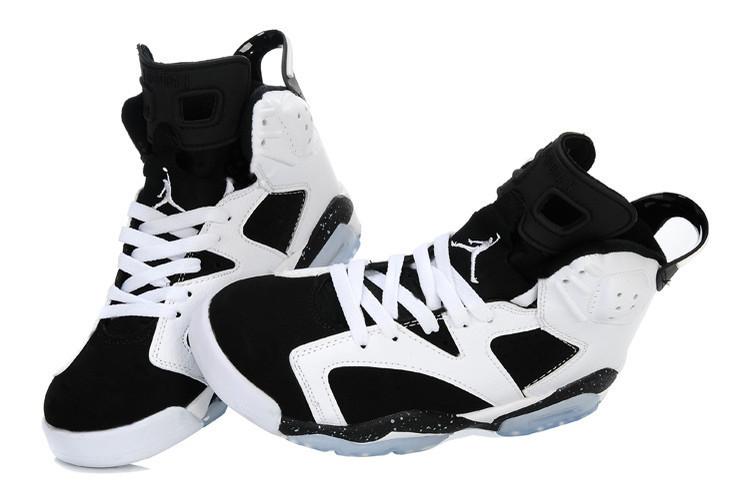 Баскетбольные кроссовки Nike Air Jordan 6 Retro белые