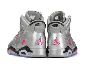 Баскетбольные кроссовки Nike Air Jordan 6 Retro Woman , фото 2