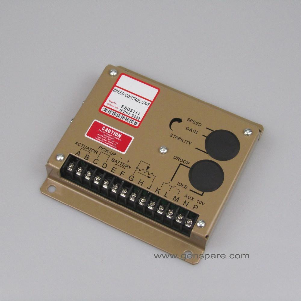 Блок управления скоростью генератора генератора