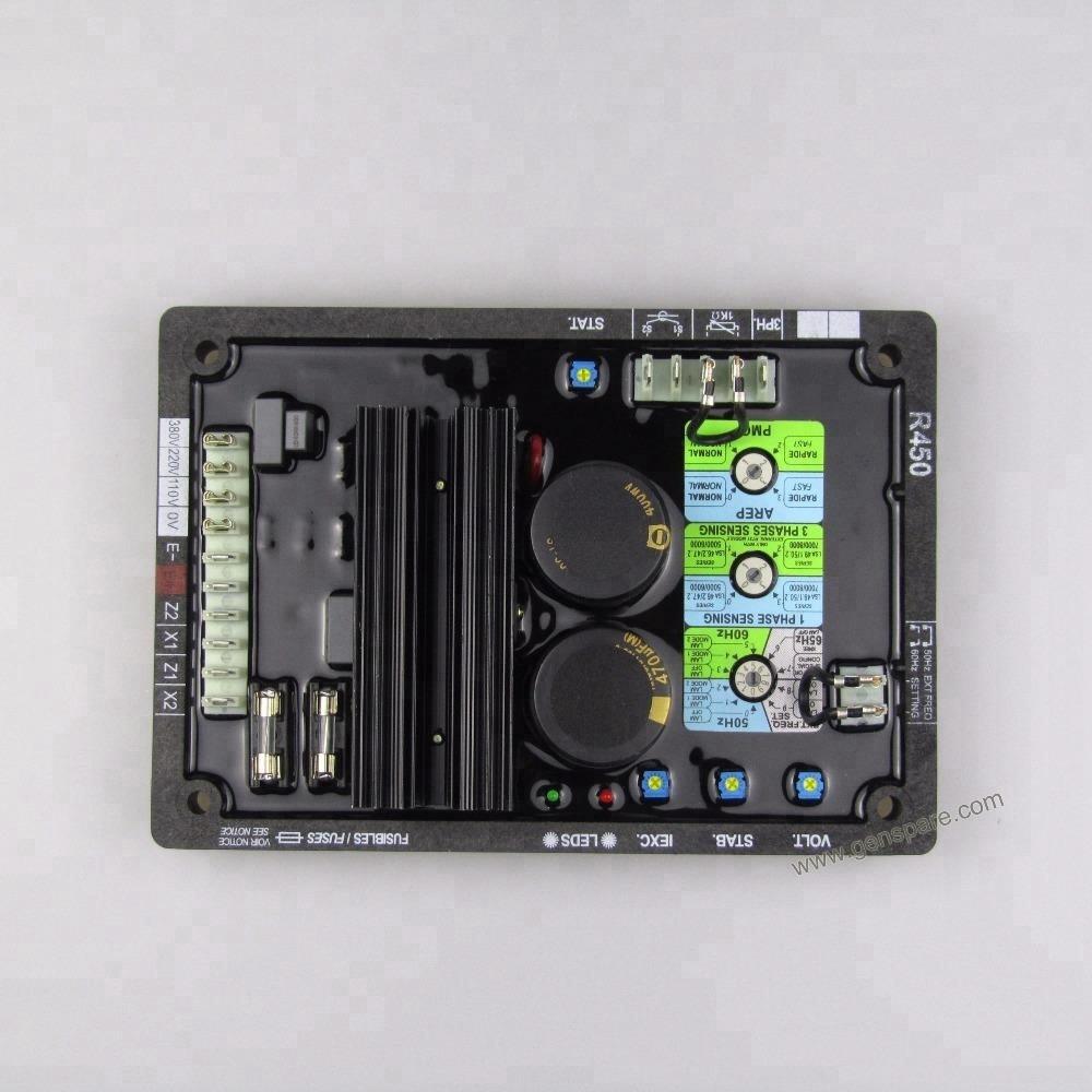 AVR R450 для генератора переменного тока Leroy Somer