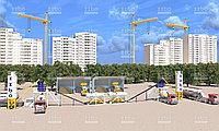 Заключен контракт на поставку двух бетонных заводов ЛЕНТА-36 с силосами цемента 42 тонны