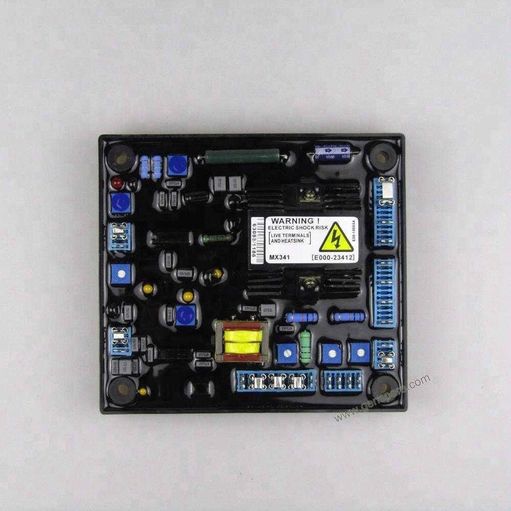Регулятор напряжения AVR MX341 для генератора Stamford
