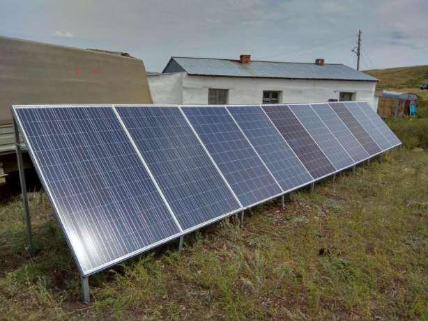 Солнечная электростанция 12 кВт/сутки(24В)