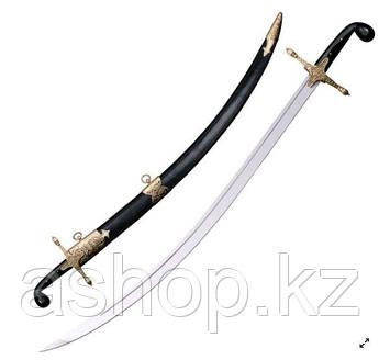 Сабля Cold Steel Shamshir, Общая длина: 920 мм мм, Длина клинка: 775 мм, Материал клинка: Сталь углеродистая 1