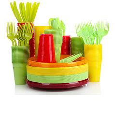 Одноразовая пластиковая посуда