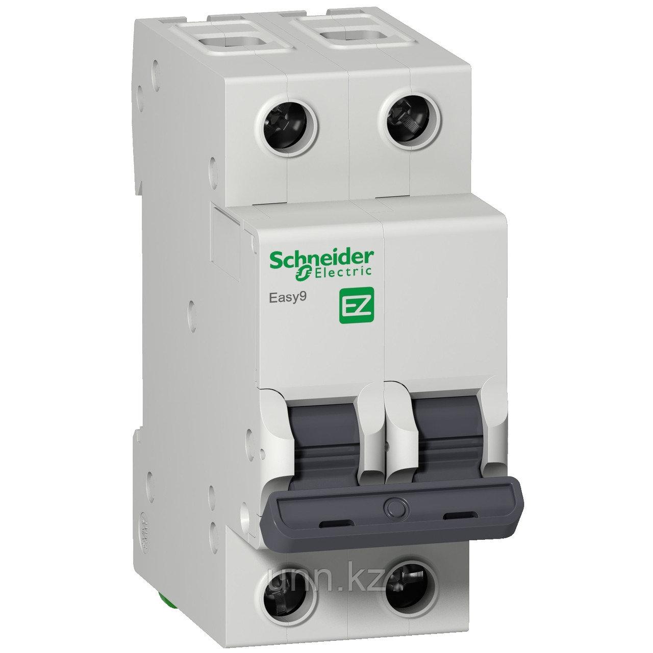 Автоматический выключатель EASY 9 2П 50А С 4,5кА 230В =S=