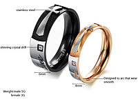 """Двойные кольца для влюбленных """"Сохраняя верность"""""""
