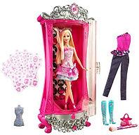 Барби Гардероб превращений Barbie Glitter , фото 1
