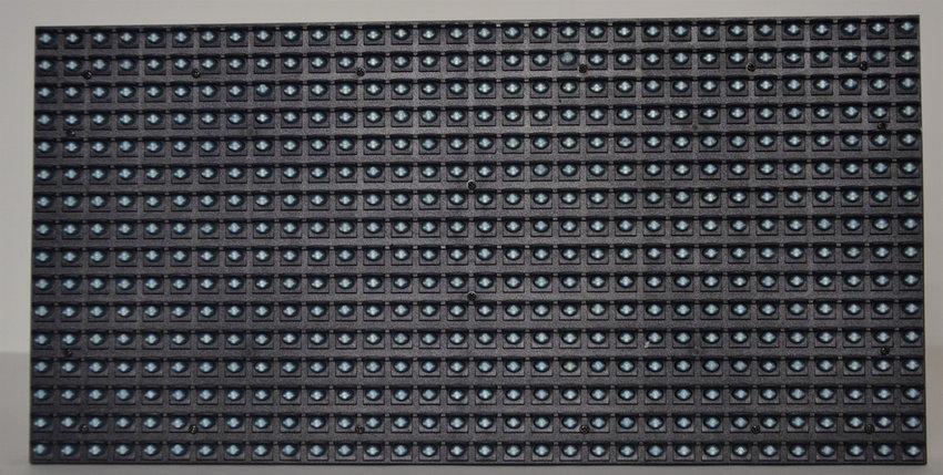 LED светодиодный модуль DIP,  P10, Синий, фото 2