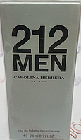 212 men Carolina herrera Мужские Мини ( 20 мг )